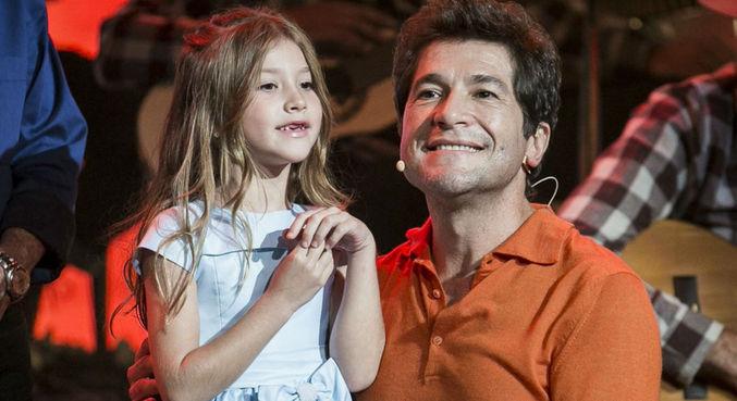 Daniel e a filha Lara