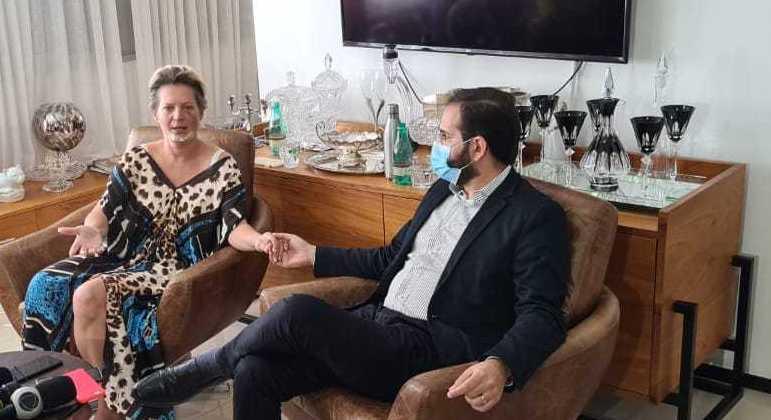 Joice e o marido, Daniel França: deputada diz  ter recebido resultado com 'naturalidade'