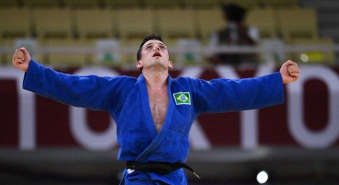 Daniel Cargnin ganhou medalha de bronze nos Jogos Olímpicos de Tóquio