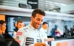 Atualmente, Riccardo corre pela McLaren e é o 8º naclassificação de pilotos, com 95 pontos
