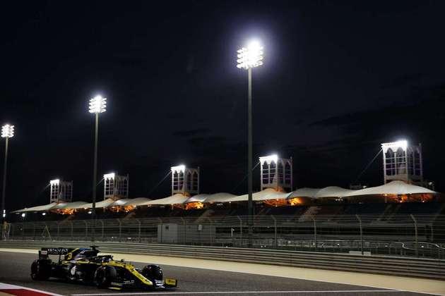 Daniel Ricciardo alcançou um bom sexto lugar no grid.