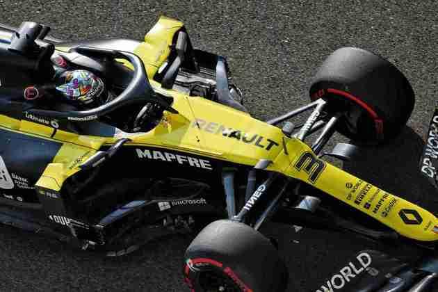 Daniel Ricciardo falhou ao tentar chegar no Q3.