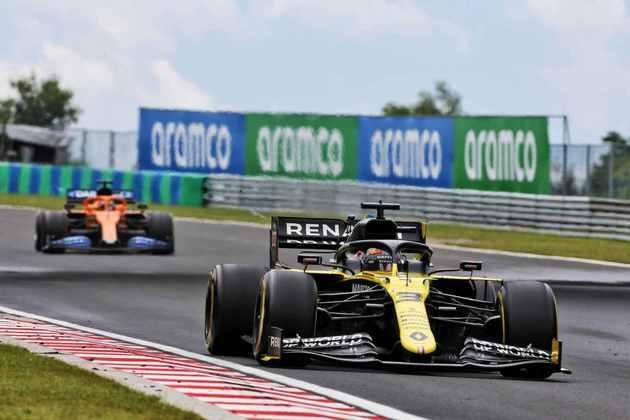 Daniel Ricciardo foi consistente e levou a Renault ao oitavo lugar