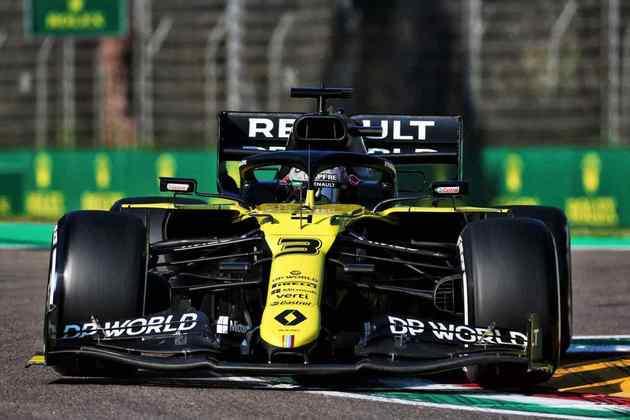 Daniel Ricciardo lançou a braba: a classificação em Ímola