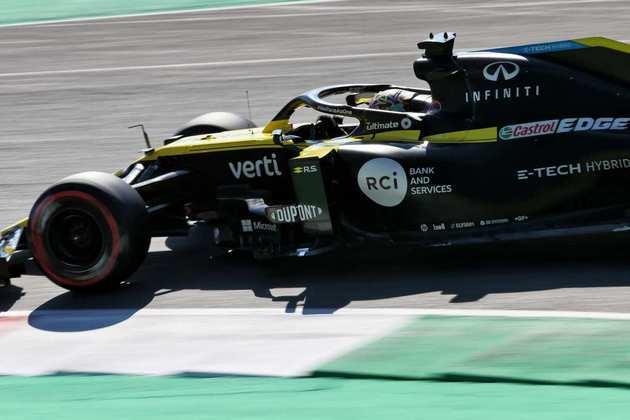 Daniel Ricciardo larga em oitavo no GP da Toscana deste domingo