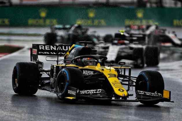 Daniel Ricciardo larga em quinto na Turquia.