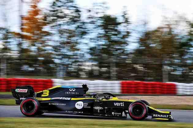 Daniel Ricciardo larga em sexto no Eifel