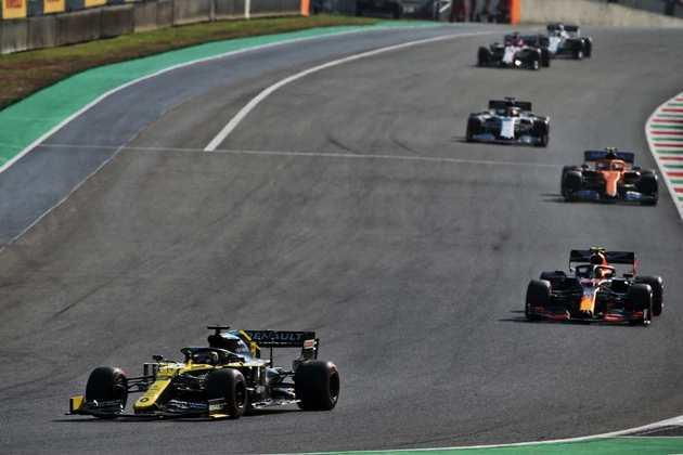 Daniel Ricciardo mostrou bom desempenho e foi o quarto colocado em Mugello