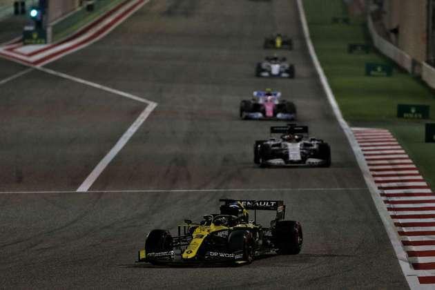 Daniel Ricciardo, o quinto colocado.