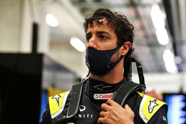 Daniel Ricciardo saiu mancando de um acidente na sexta-feira, mas não teve problemas para ir para a pista neste sábado