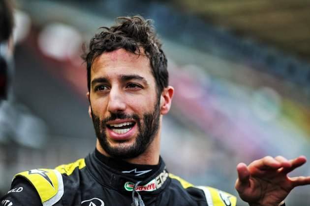 Daniel Ricciardo salvou um ponto ao completar em décimo.