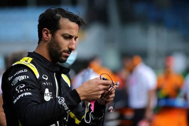 Daniel Ricciardo terminou o GP da Itália na sexta posição