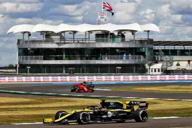 Daniel Ricciardo teve um grande resultado. Quarto lugar em Silverstone