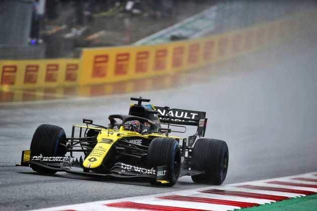 Daniel Ricciardo vai largar em oitavo no GP da Estíria