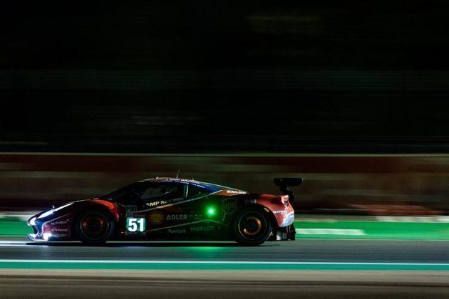 Daniel Serra subiu ao pódio guiando a AF Corse na classe GTE-Pro