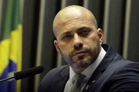 Deputado federal Daniel Silveira foi um dos alvos