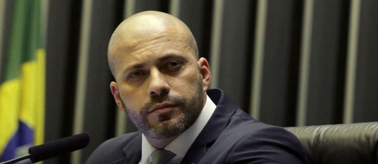 Na imagem, deputado federal Daniel Silveira (PSL-RJ)