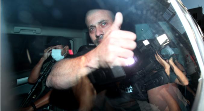 O deputado federal Daniel Silveira (PSL-RJ) é transferido para batalhão da Polícia Militar