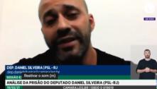 Peço desculpas a todo o Brasil, diz Daniel Silveira durante sessão