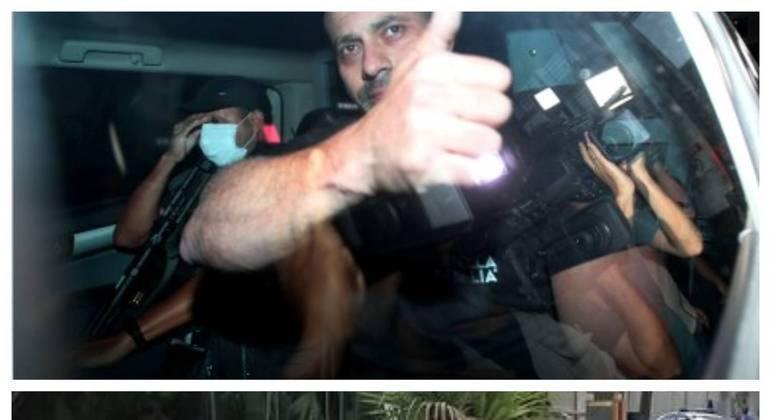 Deputado voltou para a prisão depois de desrespeitar por mais de 30 vezes o monitoramento eletrônico