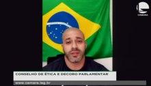 Relator recomenda suspensão de quatro meses a Daniel Silveira
