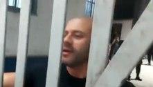 Na prisão, Daniel Silveira ameaça novamente o STF