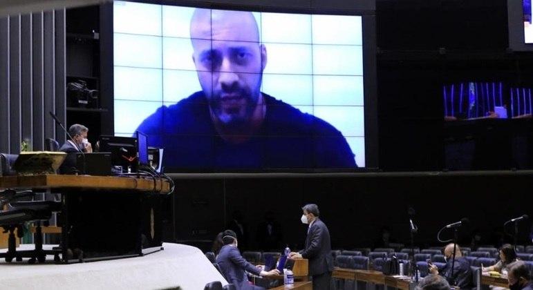 Sessão da Câmara sobre prisão do deputado federal Daniel Silveira (PSL - RJ)