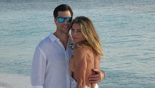 Daniela Cicarelli publica foto inédita do casamento no Instagram