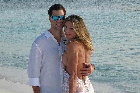 Daniela Cicarelli e o marido Guilherme Menge