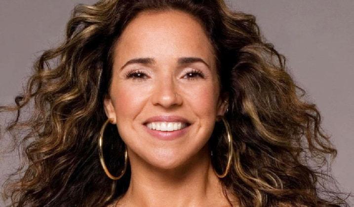 Daniela Mercury - Cantora - Time que torce: Vitória