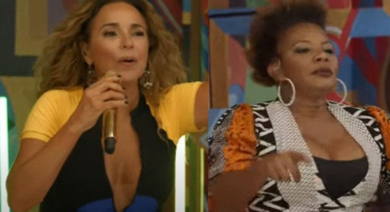 Daniela Mercury e Margareth Menezes brilham juntas em live de carnaval