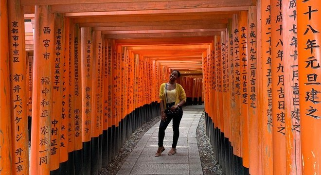 Danielle foi trabalhar como professora de inglês em uma escola primária em Ibaraki, província a 82 km de Tóquio
