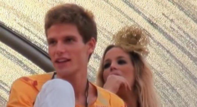 Danielle Winits e Jonatas Faro