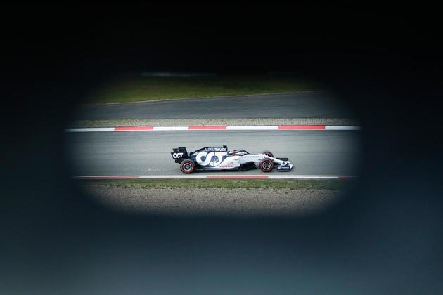 Daniil Kvyat, da AlphaTauri, será 13º no grid