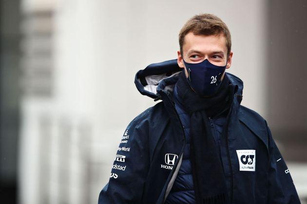 Daniil Kvyat é um dos pilotos que não correu no circuito pela F1, já que sua entrada veio em 2014