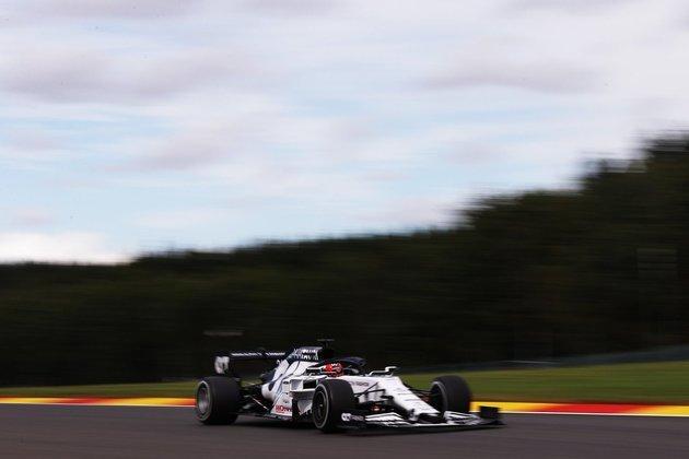 Daniil Kvyat ficou com a 12ª melhor marca da sexta-feira na Bélgica