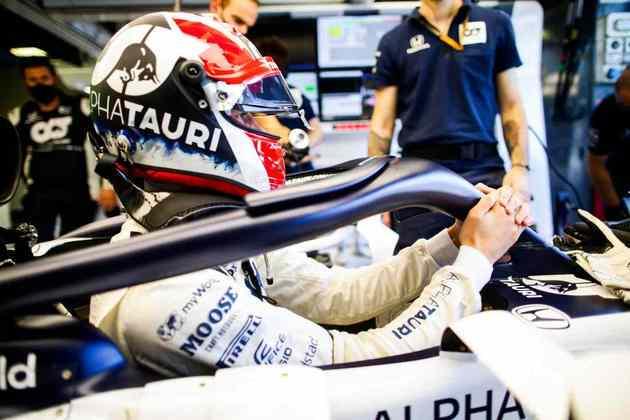 Daniil Kvyat ficou em 11º no grid de largada em Monza