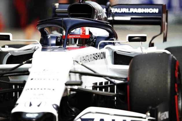 Daniil Kvyat foi o 12º mais veloz no circuito russo