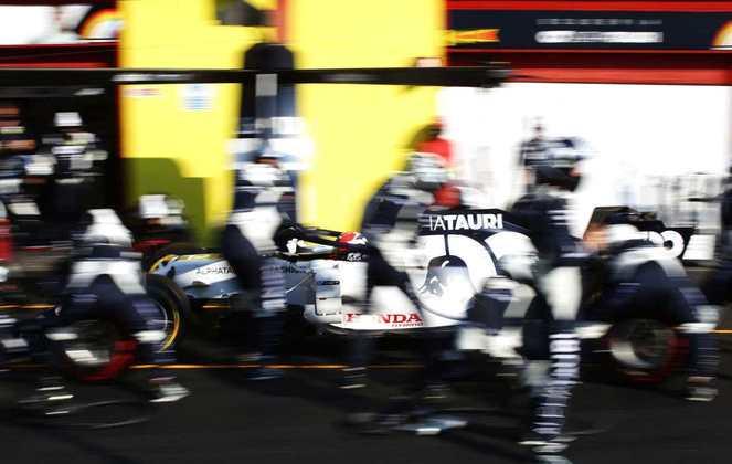 Daniil Kvyat foi o sétimo colocado no GP da Toscana