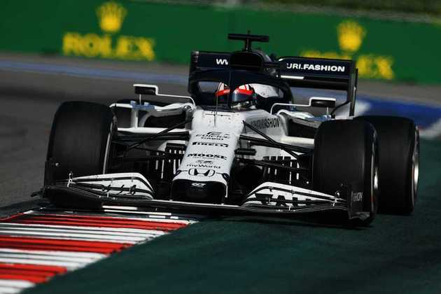 Daniil Kvyat terminou o GP da Rússia, sua corrida de casa, na oitava colocação