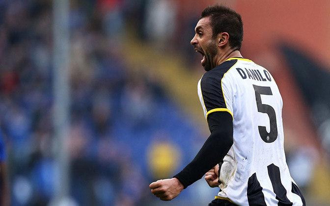 Danilo - 36 anos - Zagueiro - Último clube: Bologna - Sem clube desde: 01/07/2021
