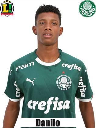Danilo – 6,0 - Substituiu Raphael Veiga aos 28' do segundo tempo, quando o time estava sendo muito pressionado. Ajudou na defesa, não comprometeu e teve atuação discreta no ataque. Ganhou experiência internacional em um jogo duro.