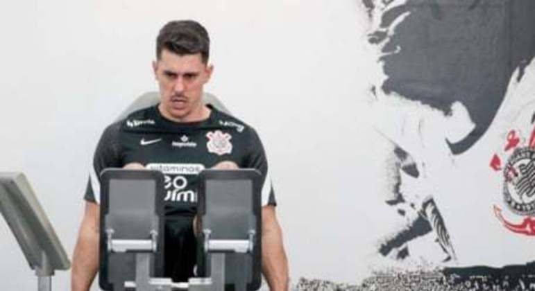 Danilo Avelar - Treino Corinthians