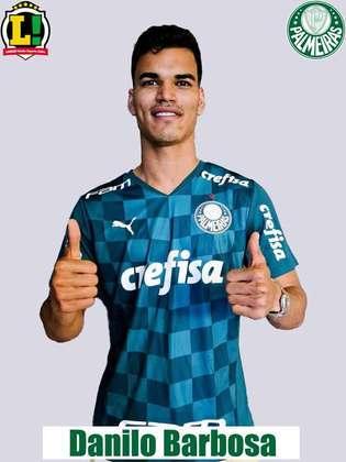 Danilo Barbosa: 6,0 - Boa atuação do volante. Mostrou qualidade no domínio e no passe, sendo um dos principais articuladores do Verdão no Nabi Abi Chedid.