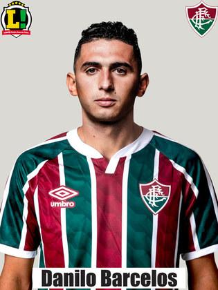Danilo Barcelos - 6,5  Apareceu quando o time precisou. Deu bom passe para Nenê sofrer o pênalti.