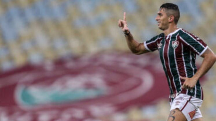 Danilo Barcelos - Clube: Fluminense - Posição: Lateral-esquerdo - Idade: 29 anos - Jogos completados no Brasileirão 2021: 1 jogo - Situação no clube: Reserva com poucas oportunidades