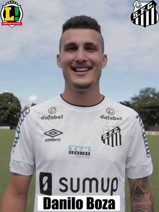 Danilo Boza – 5,5 – Em duas saídas de bola deu sustos na torcida santista, mas chegou firme sempre que precisou e pelo alto foi bem.