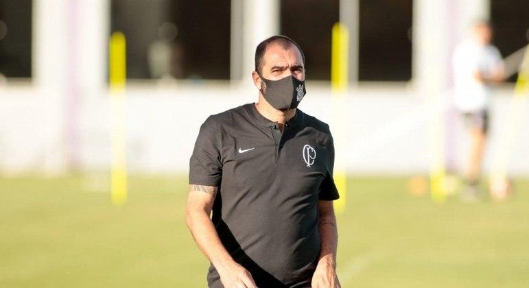 Danilo atualmente é o técnico da equipe sub-23 do Corinthians
