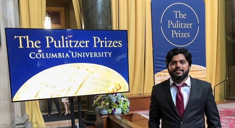 Siddiqui fez parte da equipe da agência Reuters que venceu o prêmio Pulitzer de 2018