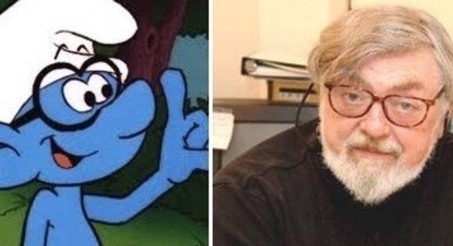 Goldman ficou conhecido por emprestar a voz ao Smurf Gênio